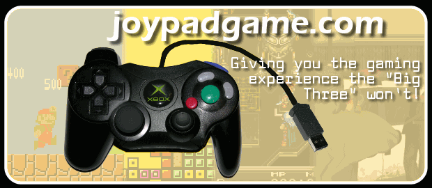 JoypadGame.com - Giving you the gaming experience the Big Three won't.